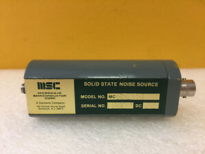 Microwave Semiconductor msc Mc65224 7 To 11 Ghz 15 5 Db Enr Noise Source New