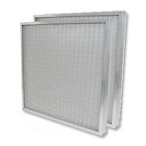 Smith Filter 10x20x2 Aluminum Mesh Washable Air Filter Replacement 2 pack