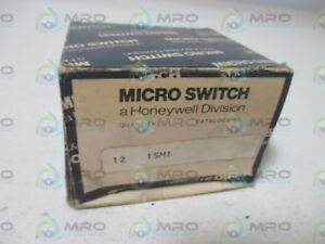 Lot Of 12 Microswitch 1sm1 Snap Action Switch new In Box