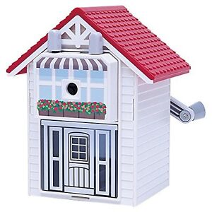 Karujimuki Red House Of Pencil Sharpener Karl kun Cms 210 r Japan