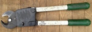 Greenlee 754 Ratchet Cable Cutter Shear Cut 19 1 8 In