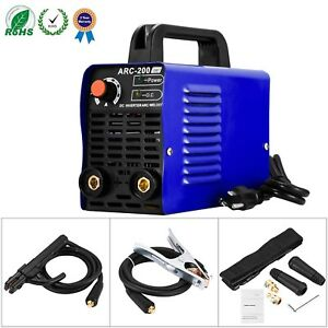 Karomch Arc 200 Welder Igbt Ac Dc 110v Inverter Welding Machine 200 Amp M New