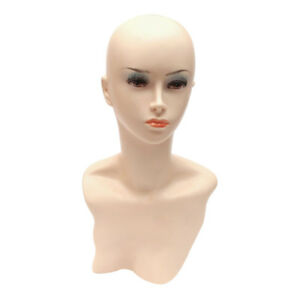 Pvc Female Mannequin Wig Heads Foam Mannequin Manikin Head Model Wig Hair