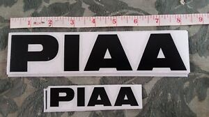 2 Piaa Die Cut Stickers Performance Lights Off Road Rally Racing Decal