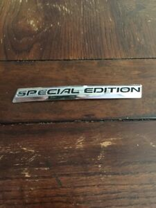 Honda Accord Sport Special Edition Trunk Emblem Original Equipment