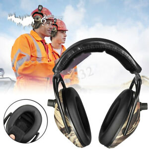 Electronic Ear Muff Headphones Gun Shooting Hunting Protection Tactical Headset
