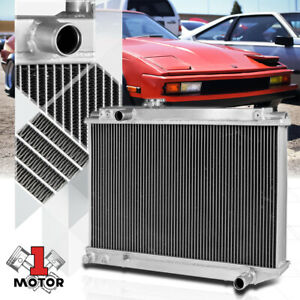 Aluminum 3 Row Performance Cooling Radiator For 86 92 Toyota Supra Mark Iii A70