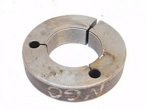 Used Besly Thread Ring Gage 2 X 16 Un 2a lo P d 1 9524