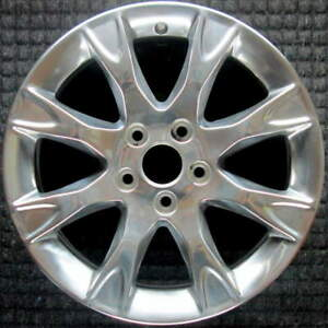 Ford Fusion Polished 17 Inch Oem Wheel 2011 2012 Be5z1007a 3f2z1130ea