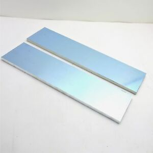 5 Thick 1 2 Precision Cast Aluminum Plate 5 375 x 20 125 Long Qty 2 Sku175009