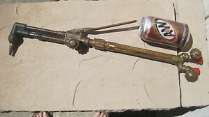 Large Victor Ca1450 Cutting Torch With 310c Handle