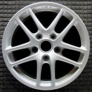 Porsche Cayman Painted 17 Inch Oem Wheel 2008 98736212601