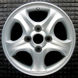 Hyundai Accent Painted 13 Inch Oem Wheel 2000 2002 5291025930