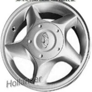 Hyundai Accent Painted 13 Inch Oem Wheel 2000 2002 0840025100