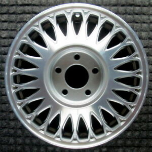 Cadillac Deville Machined 15 Inch Oem Wheel 1994 1995 03636696 03543662
