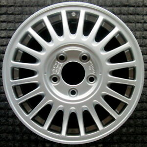 Acura Legend All Silver 15 Inch Oem Wheel 1991 1992 42700sp0a21 42700sp0j21
