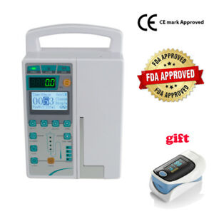 Syringe Infusion Pump Iv Fluid Administration Audible Visual Alarm kvo gift