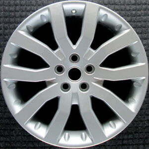Land Rover Range Rover Sport Sparkle Silver 20 Inch Oem Wheel 2006 2009 Rrc5006
