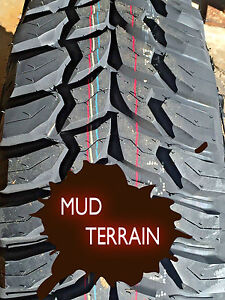 2 X New Lt 265 75 16 Crosswind Mt Mud Terrain Tires Lre 10pr Lt265 75r16