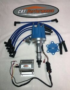 Ford 300 240 I6 4 9l Small Cap Blue Hei Distributor 60k Coil