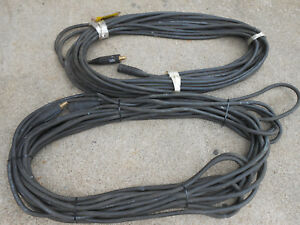 Radnor 2 100 Ft Flex a prene Pre assemble Extension Welding Cables 1 0 Guage