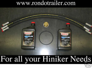 Hiniker Snow Plow Hoses Fluid O Ring Filter Kit Free Shipping