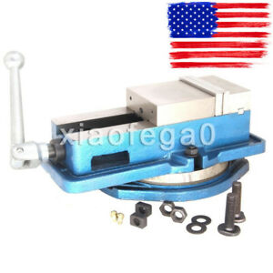 6 Accurate Lock Vise Precision Milling Drilling Machine Bench Clamp Vice In Us