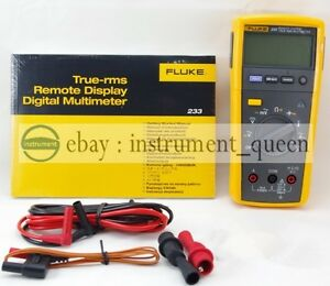 New Fluke 233 True Rms Remote Display Digital Multimeter Detachable Tester 233c