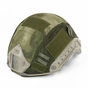 Tactical FAST MH PJ Helmet Camouflage Cover Military Helmet Wargame Army Airsoft