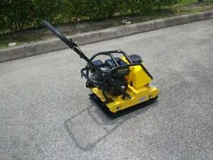 Cormac Plate Compactor Model C95th Honda Gx160 5 5hp Gasoline With Water Tank