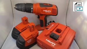 Hilti Sfh 151 a 15 6v Nimh Cordless Hammer Drill 2 Batteries And Charger