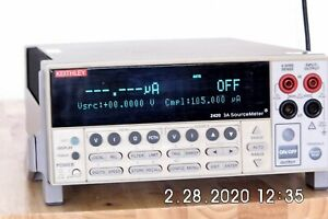 Keithley 2420 High Current Sourcemeter 60vdc 3a 60w Nist Available 12 In Stock