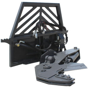 Prowler Hydraulic Rotating Tree Shear Skid Steer Attachment 12 Inch Cut