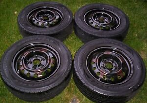 4 Tripletred Tires 195 65r15 Goodyear Assurance Used Great Condition Pick Up