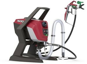 1500 Psi High Efficiency Airless Paint Sprayer Stand 25 Feet Hose 0 29 Gpm