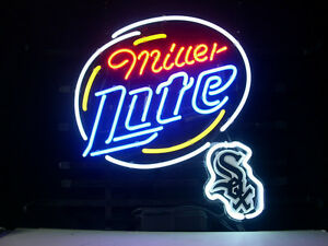 Chicago Beer Neon Sign Display Beer Bar Pub Mancave Garage Neon Light Custom 173