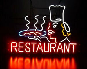 Restaurant Neon Sign Display Seafood Beer Bar Pub Real Light Custom Sign Z457