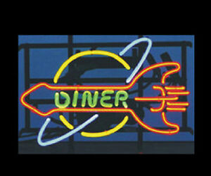 Diner Neon Sign Display Bar Pub Beer Restaurant Light Real Neon Light Sign Z049