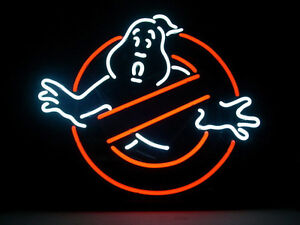 Ghostbusters Neon Sign Store Display Beer Bar Pub Mancave Garage Neon Light Z326