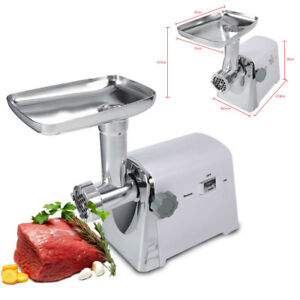 1600w Electric Meat Grinder Home Mincing Machine Sausage Stuffer Stainless Steel