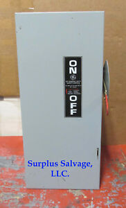 Ge 100 Amp 240 Volt Disconnect Safety Switch Catalog Tg3223 new No Box
