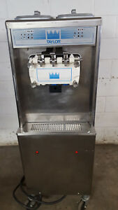 Taylor 794 33 Ice Cream Machine 2 Flavor Twist Air Cooled Tested 208 230v