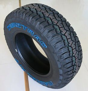4 New P275 55 20 Suretrac At Tires All Terrain Truck Suv 4 Ply Owl 2755520 R20