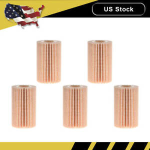 5x Oem Engine Oil Filter For Toyota Sequoia Tundra 5 7l Lexus Lx570 04152 Yzza4