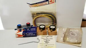 New Vintage Nos Automotive R 22 Imperial Eastman System Analyzer W Marsh Gauges