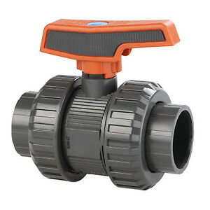 2 Threaded socket St Series Pvc Ball Valve With Epdm O rings