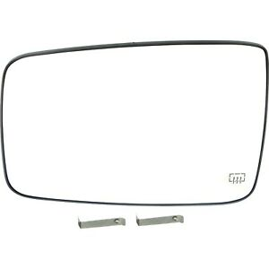 New Mirror Glass Driver Left Side Heated For Ram Truck Lh Hand Dodge 1500 2500