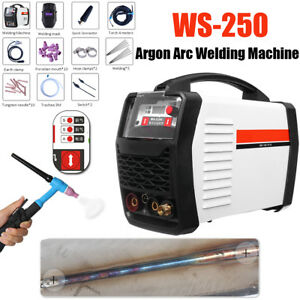 Mma Mos Tig Argon Arc Welder Welding Plasma Cutter Machine Ws 250 Led Digital Us