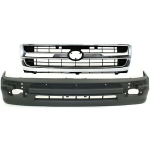 Bumper Cover Kit For 98 2000 Tacoma Rwd 2wd Models With Cover Trim