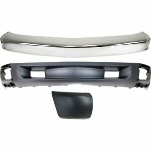 Bumper Kit For 2007 2008 Chevy Silverado 1500 Front Right New Body Style 3pc